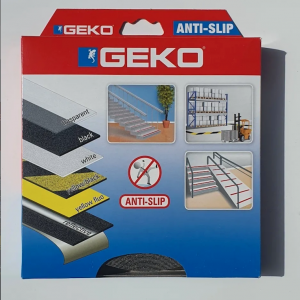 Cinta Antideslizante Geko negro: 25mm X 18mt
