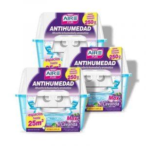 Antihumedad Aire Pur-Pack X 3un.